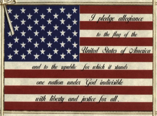 The United States of America Pledge of Allegiance